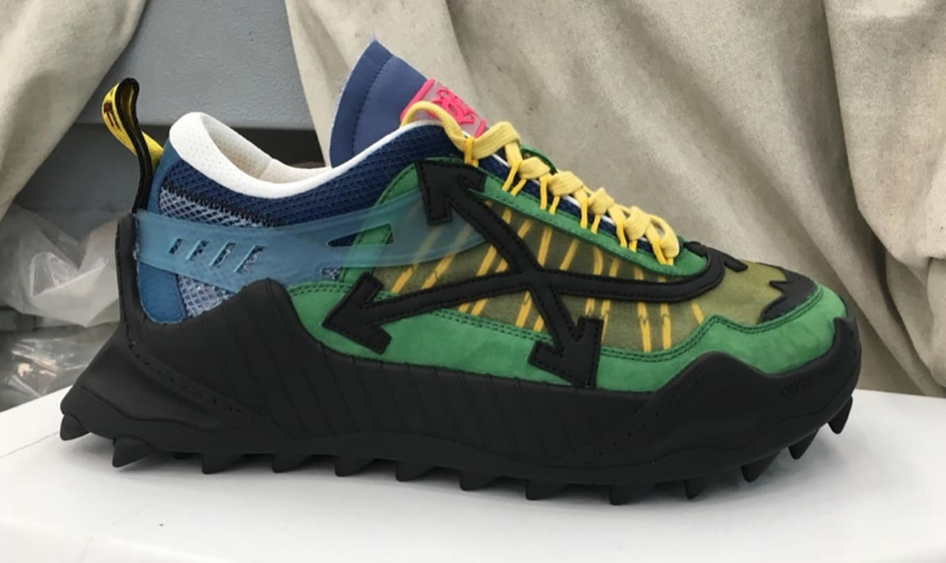 Virgil Abloh Debuts New Off White ODSY 1000 Sneakers Eneste  Sole