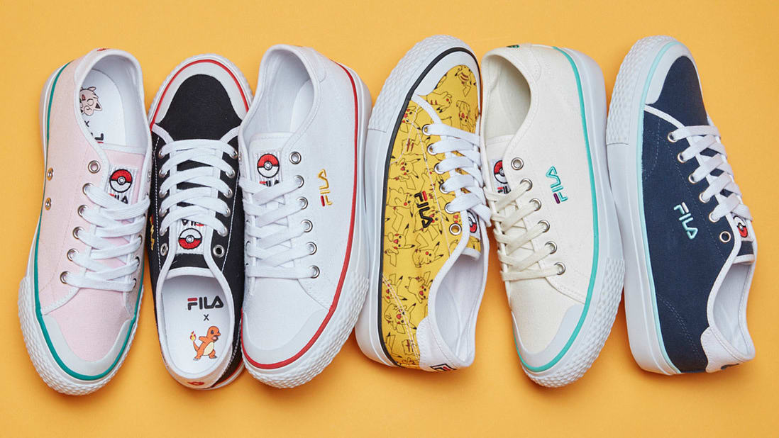 fila shoes pokemon agility ability