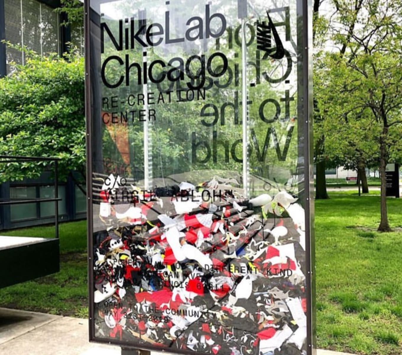 Virgil Abloh Teasing NikeLab Project at His Old School