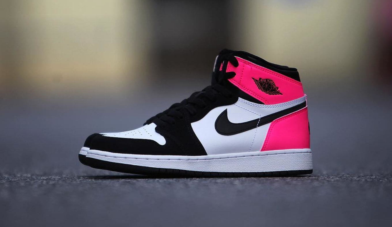 68b8c3bbf90 Air Jordan 1 Valentine s Day Black Pink Release Date 881426-009 ...