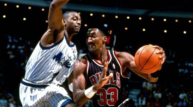 69b40bc9714ff2 Nike Penny 1   More Uptempo Pack Celebrates 90s Magic vs. Bulls Rivalry