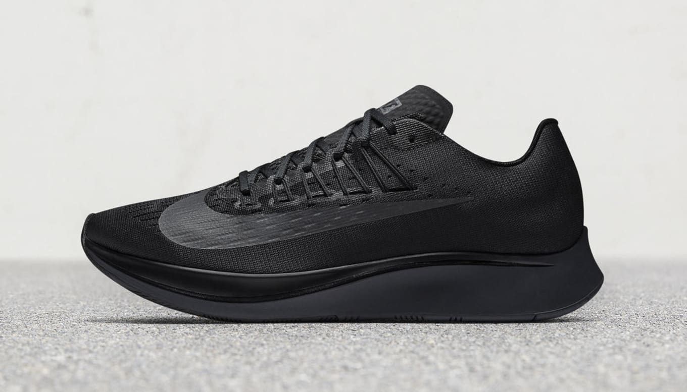 13cd1060560b5 The  Triple Black  Nike Zoom Fly Releases in November. The Breaking2 runner  is ready for business.