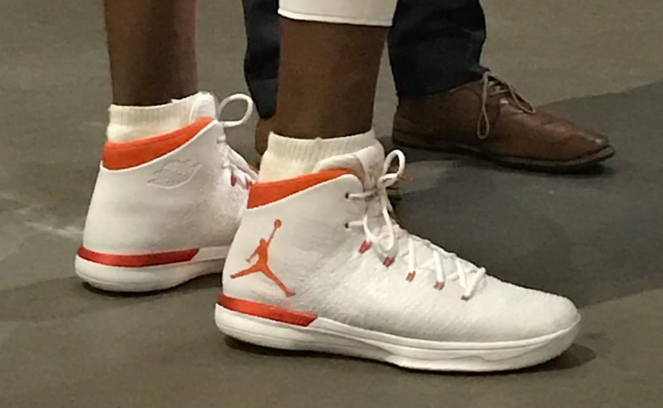 5b2c5ffc74c8  SoleWatch  Russell Westbrook Debuts New Air Jordan 31 at Media Day