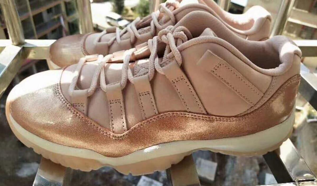 039 Rose Gold  039  Air Jordan 11 Low Rumored for Next Year 393222367