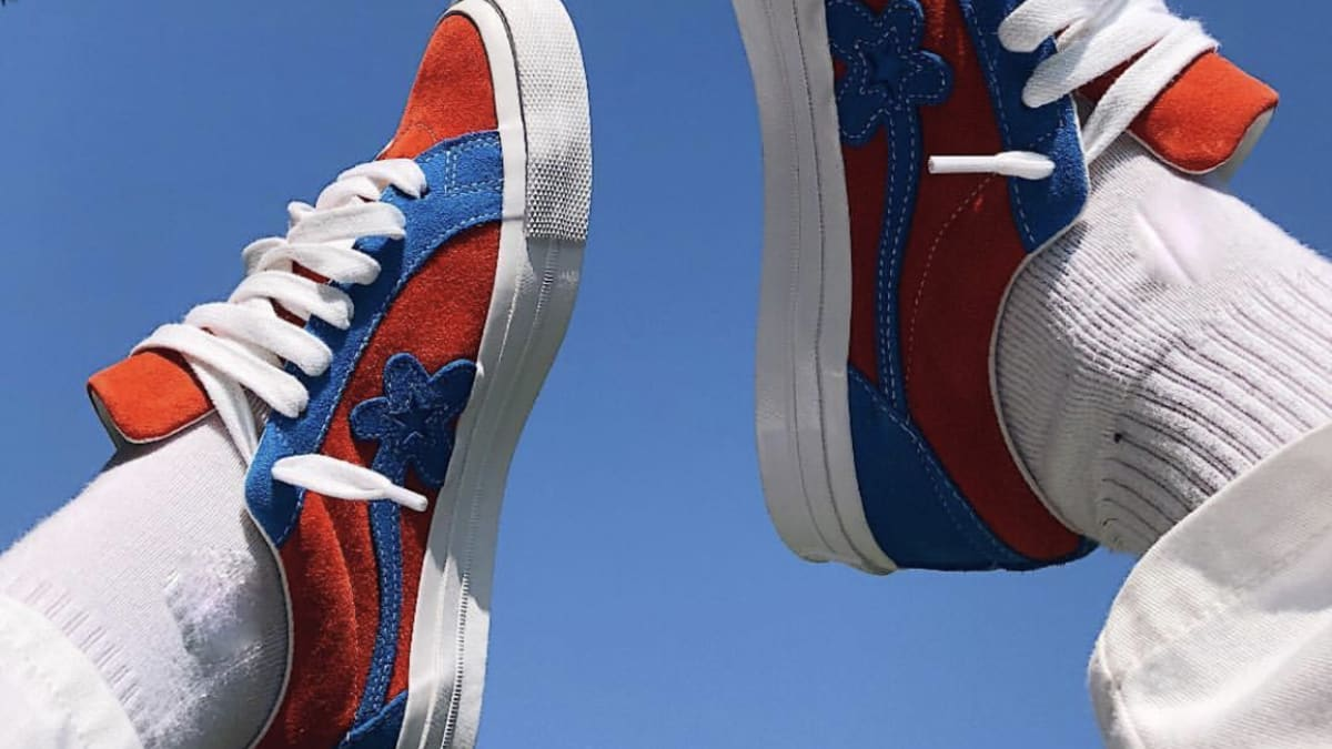 cee044f735590e Tyler the Creator x Converse Golf le Fleur Blue Red  Spider-Man  Images