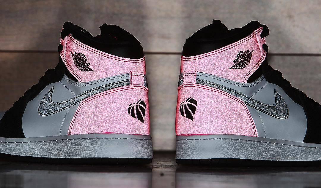 Air Jordan 1 Valentine s Day Black Pink Release Date 881426-009 ... 2a443ea7b