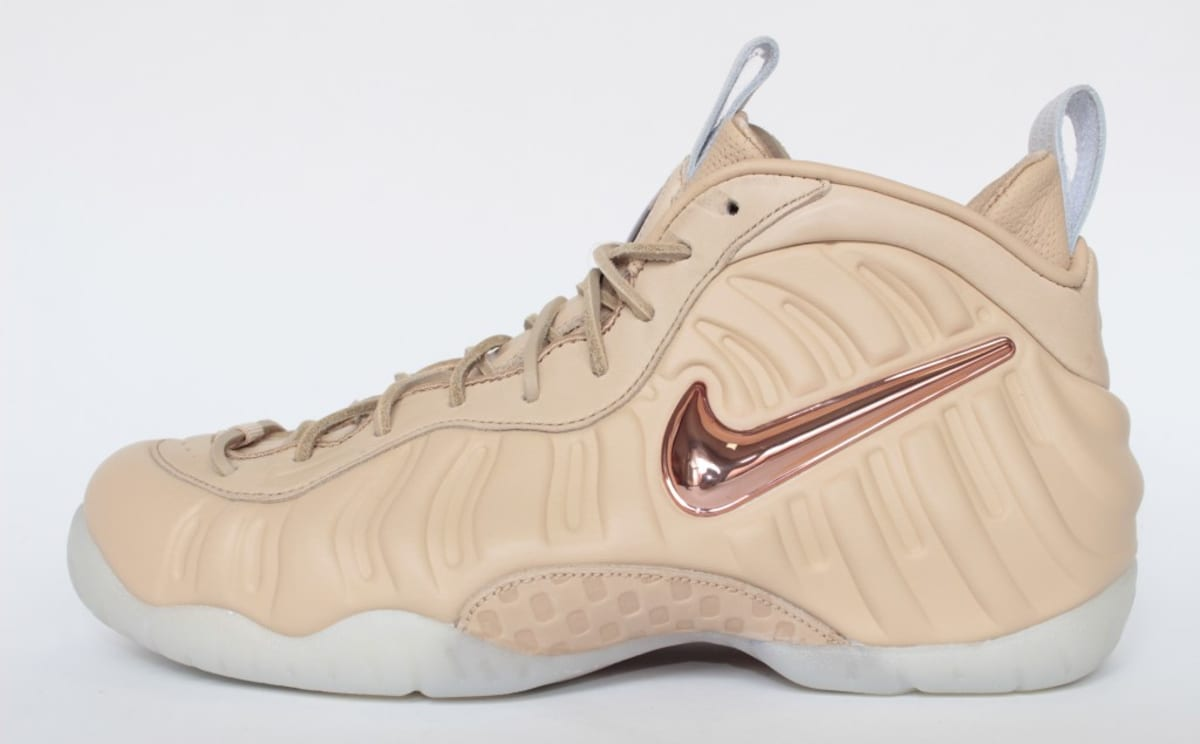 c20802e20 Nike Air Foamposite Pro Premium Veg Tan Leather Release Date