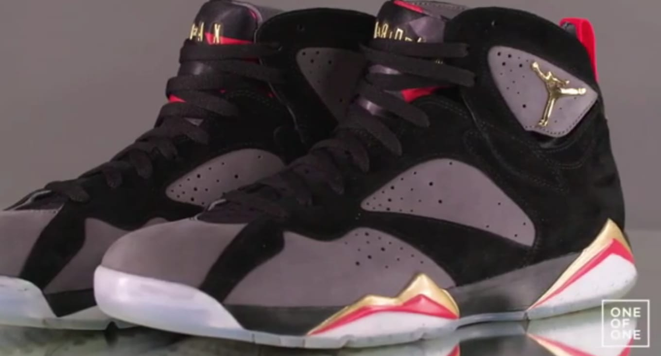 c846950942c Nick Cannon's Air Jordan 7 'Wild 'N Out' on the 'One of One' Show ...