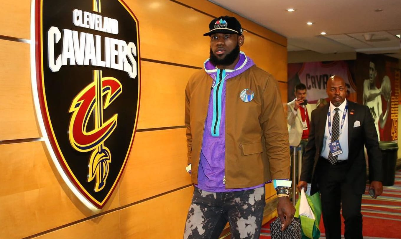 df240d04881 LeBron James Debuts  Purple Suede  Nike Air Zoom Generation. King James  continues to make headlines with NBA Finals footwear.