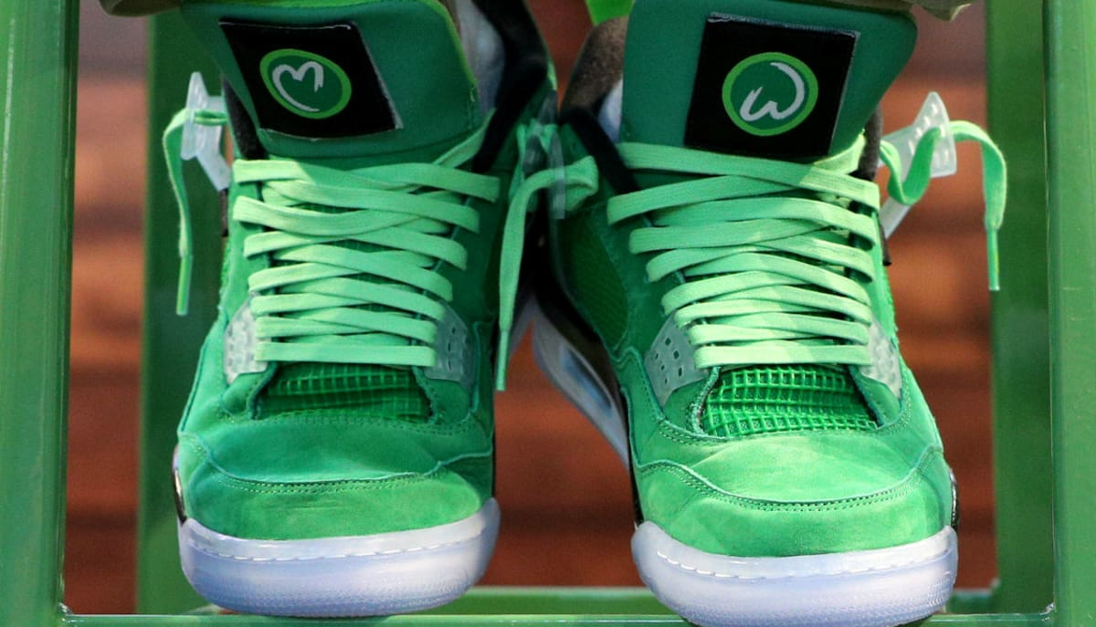 Your Chance to Win Mark Wahlberg's Jordan 4s
