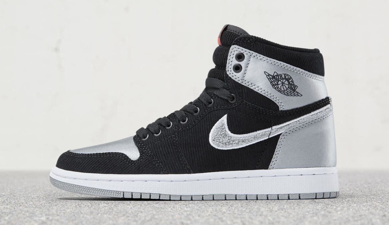 524de6112521 Aleali May x Air Jordan 1 Black Silver Satin Release Date