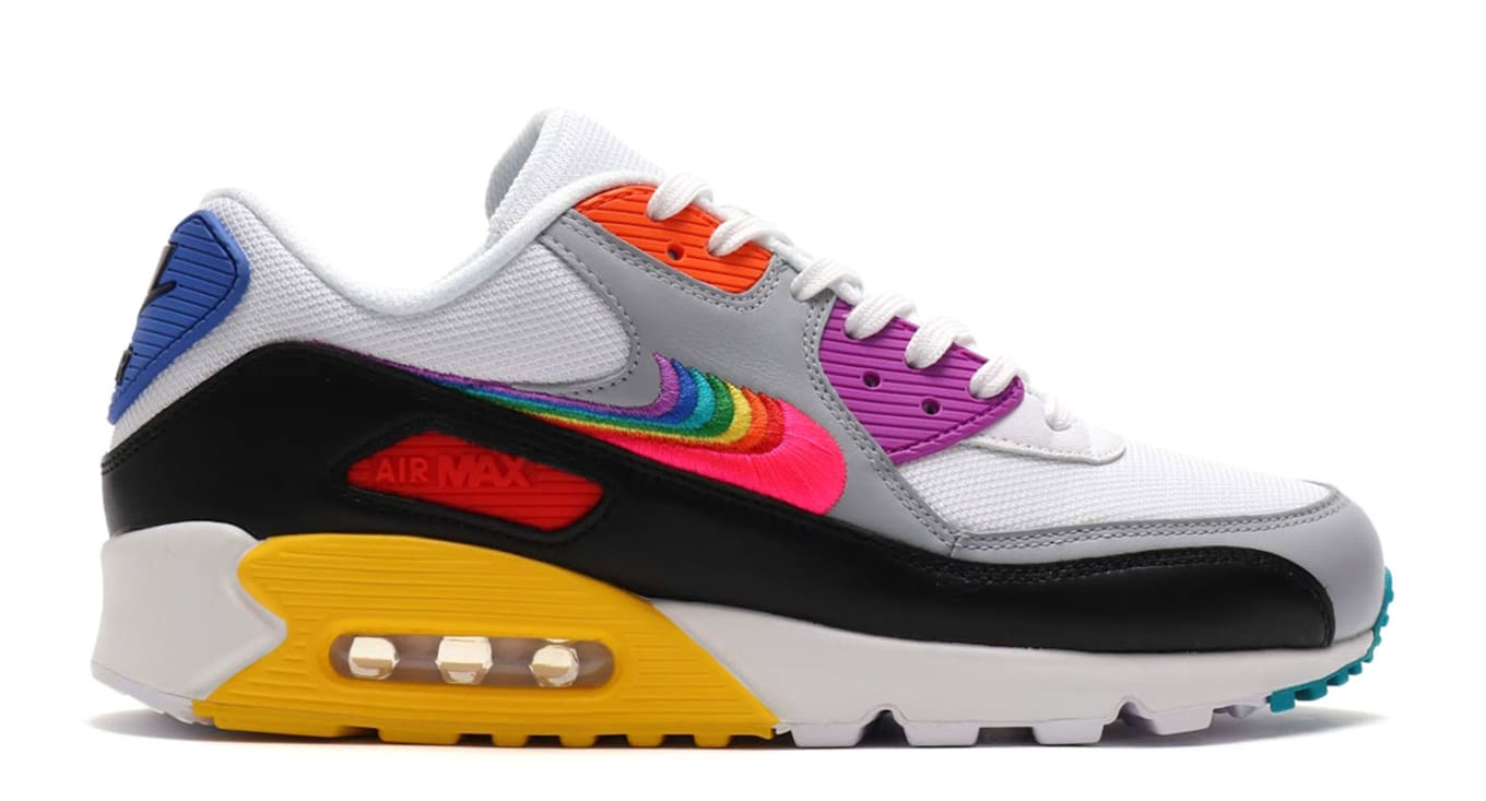 pretty nice c208c f0ded  Be True  Nike Air Max 90 Celebrates the LGBT Community