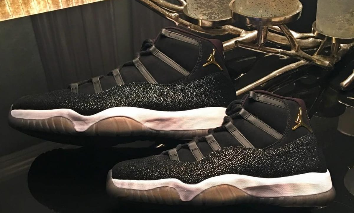 dcd3c2249ccea1 Air Jordan 11 Heiress Black Mens Size