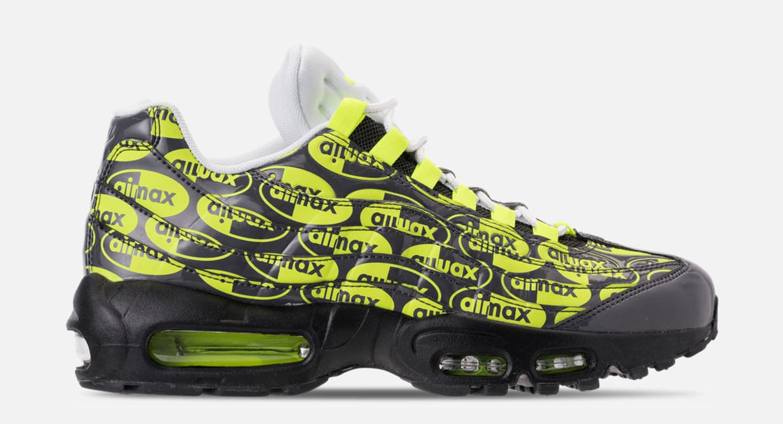 sports shoes 8f617 ffd64 Nike Air Max 95  Black Volt Ash White  538416-019 Release Date ...