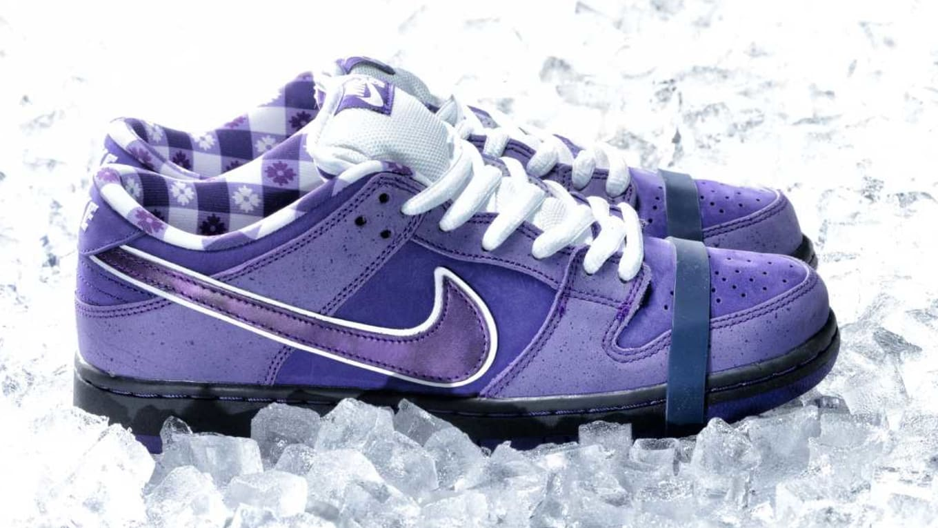 new design wholesale outlet catch Someone Paid $10,000 for 'Purple Lobster' Dunks | Sole Collector