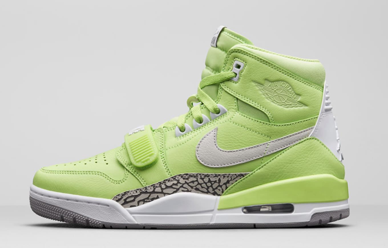 new styles a824e 0fb91 Air Jordan Legacy 312  Ghost Green