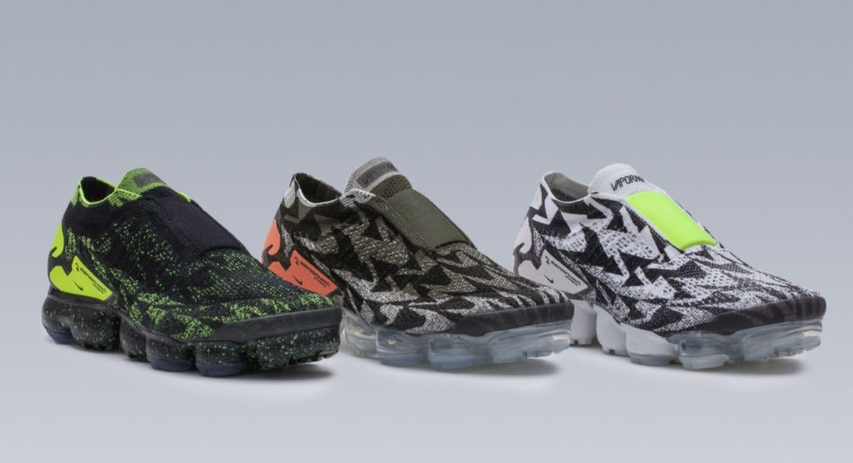 low priced e4dc4 7cb5d ... AQ0996-007 Black VoltBlack Acronym x Nike Air VaporMax Moc 2 ...