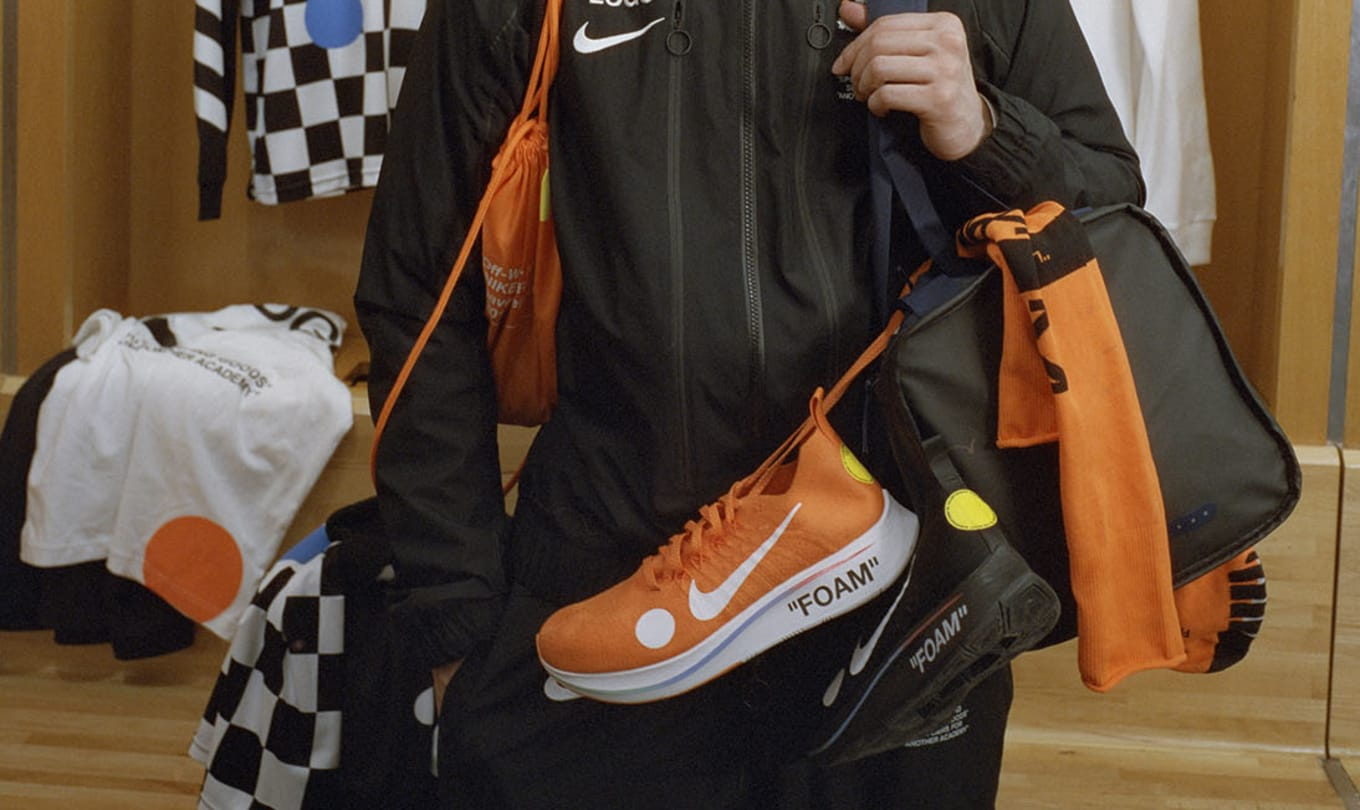 9870f8201846 Virgil Abloh Expresses Love for Soccer with New Off-White x Nike  Collection. View the  Football