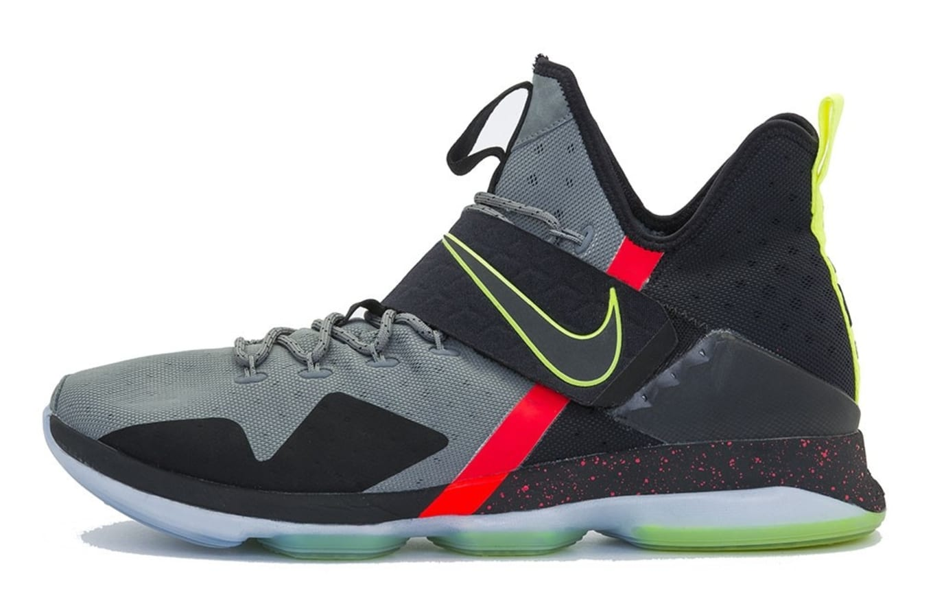 e783f98c5d1 LeBron James  I Promise School Game-Worn Nikes Available Now