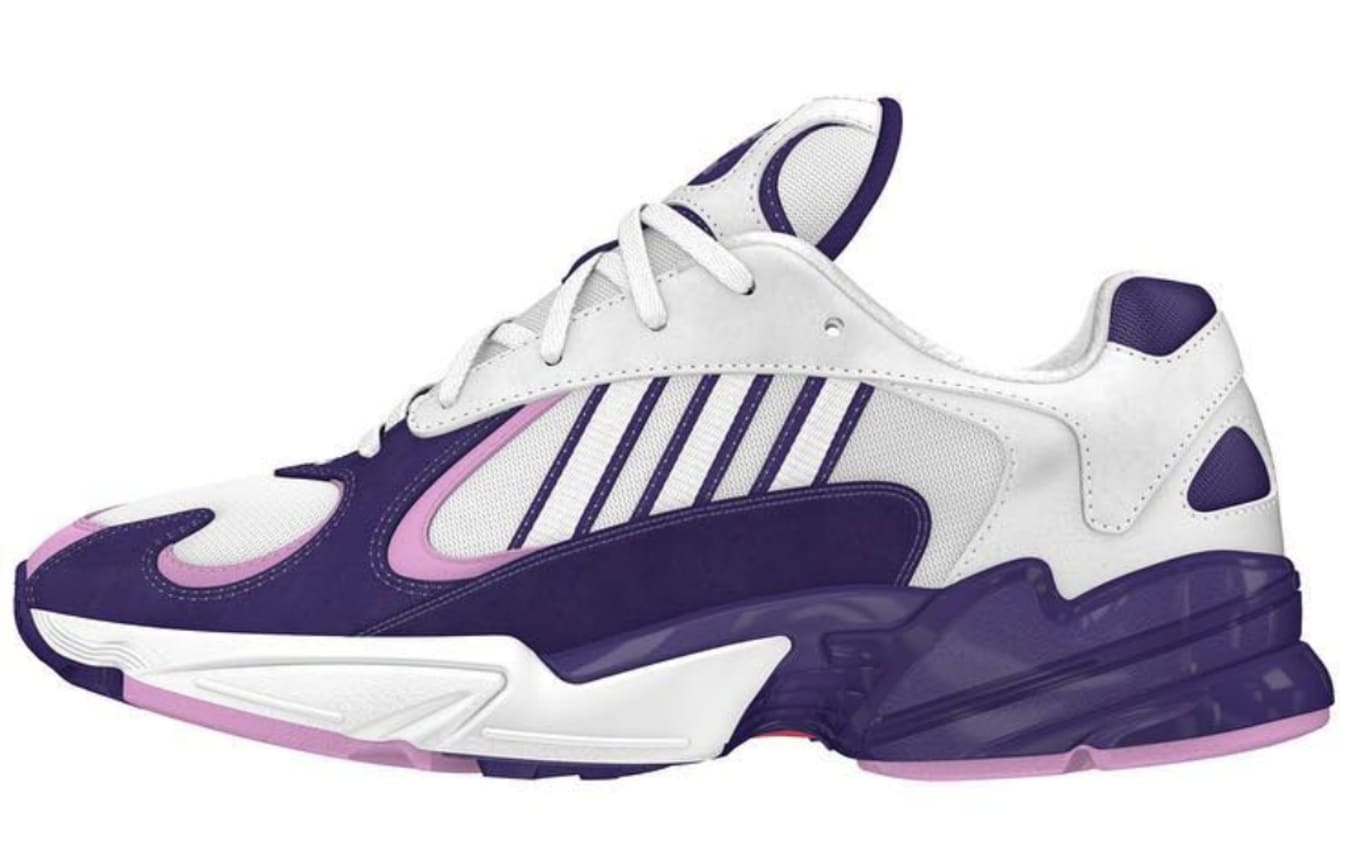... Dragon Ball Z x Adidas Collection. An Adidas Yung-1 inspired by Frieza. e416520d5