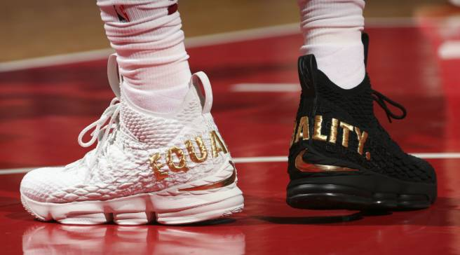 3accf49bf291dd LeBron s  Equality  Sneakers are Finally in the Smithsonian