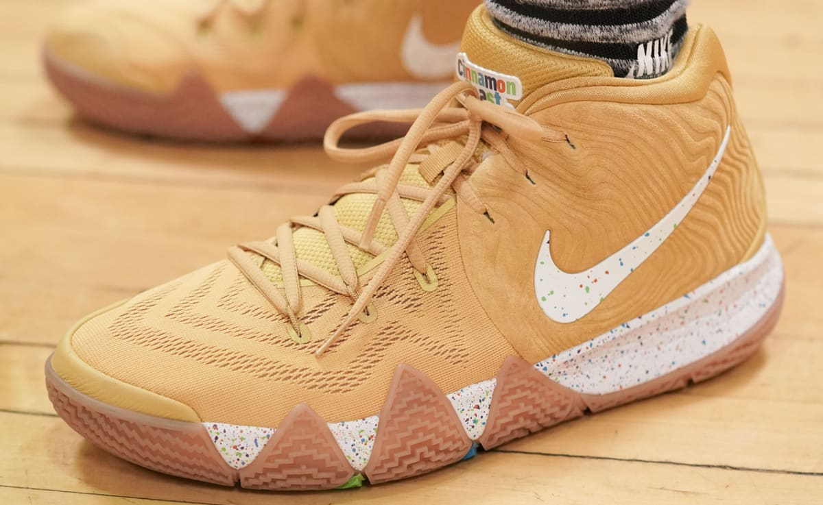 finest selection 1a22f 26d83 ... closeout nike kyrie 4 cinnamon toast crunch release date bv0426 900  side sole collector 1638b d6cce