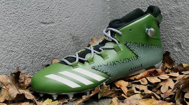 501d5895e9d6b2 Adidas Dressed Up Football Cleats for Halloween