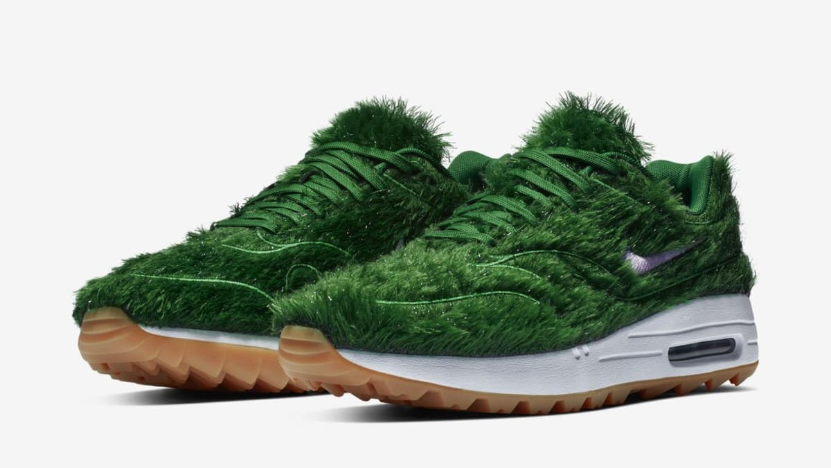 watch 804fe a4d17 Nike Air Max 1 Golf Grass Release Date  Sole Collector