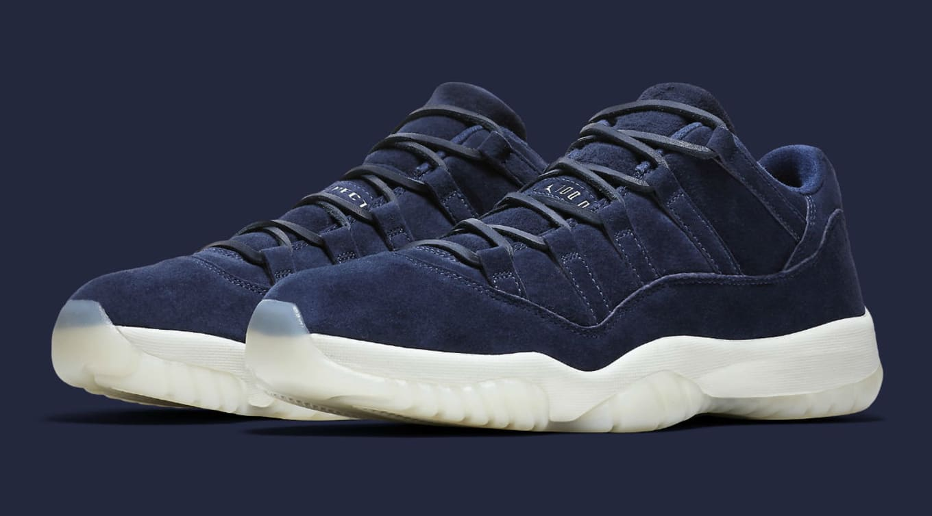 uk availability 235ee 5bb07 Derek Jeter s  RE2PECT  Air Jordan 11 Lows Available Early. Exclusive  access for Nike members.