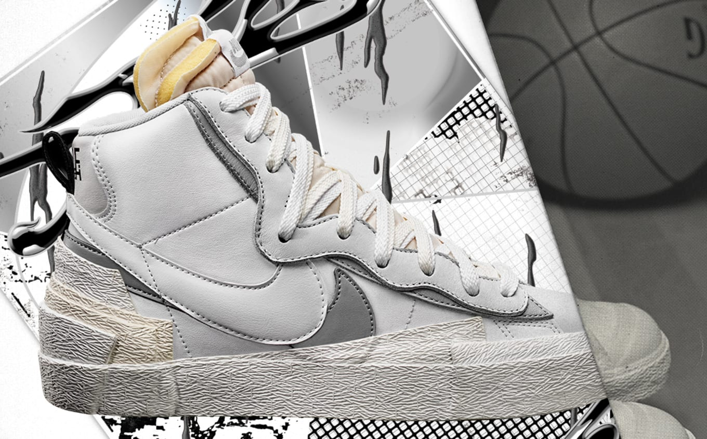 the latest d8712 5289c Sacai x Nike Blazer High Black White Release Date | Sole ...