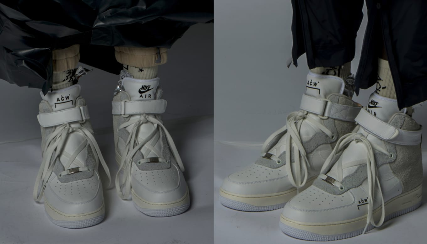 detailed pictures fb22f 0bf08 This Exclusive Nike Air Force 1 Is Actually Releasing. The A-Cold-Wall  pair will only be available in London.