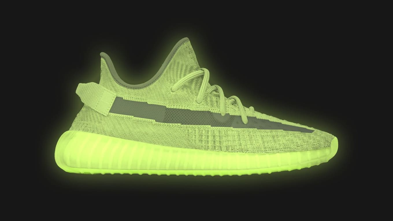 e7dfb81ca Adidas Yeezy Boost 350 V2  Glow in the Dark  Release Date