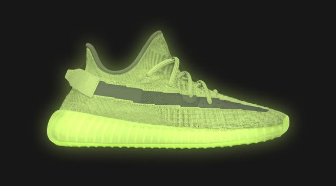 a5bd42f7f72d2d The  Glow  Yeezy Boost 350 V2 Releases This Month
