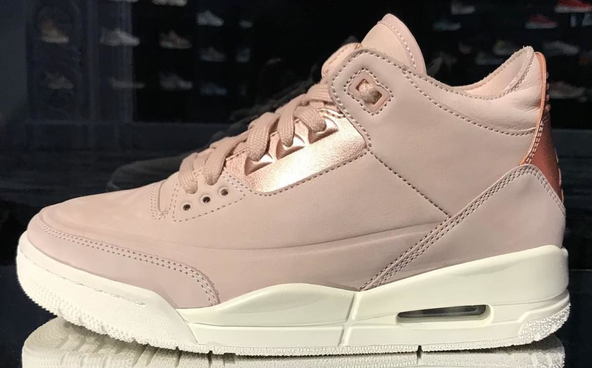 air jordan 3 iii rose gold pink release date sole collector