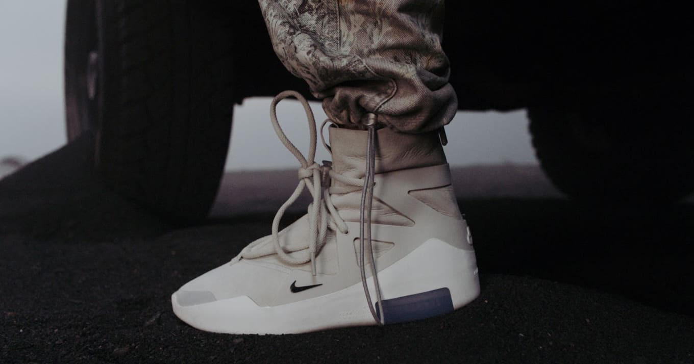 new style f8ec2 96a93 Best Look Yet at the Fear of God x Nike Air FOG