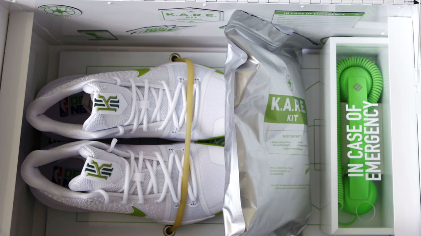 402f68aca18a14 Mountain Dew Made Special Shoes for Kyrie Irving