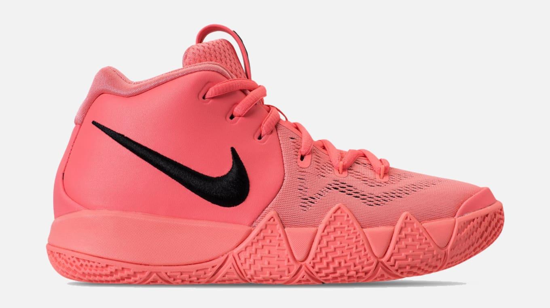 06d902dbd3b Nike Kyrie 4 GS  Lt Atomic Pink Hyper Pink  AA2897-601 Release Date ...