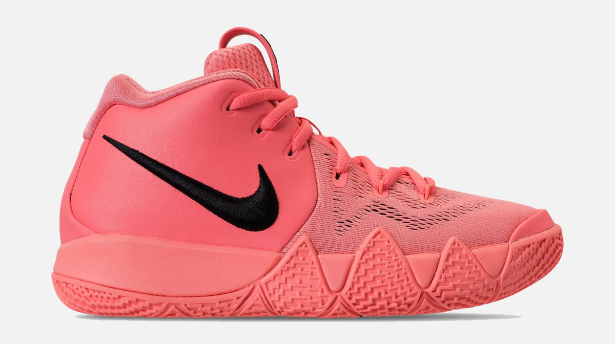73ba134fb5a0 ... promo code for nike kyrie 4 gs lt atomic pink hyper pink aa2897 601  release date