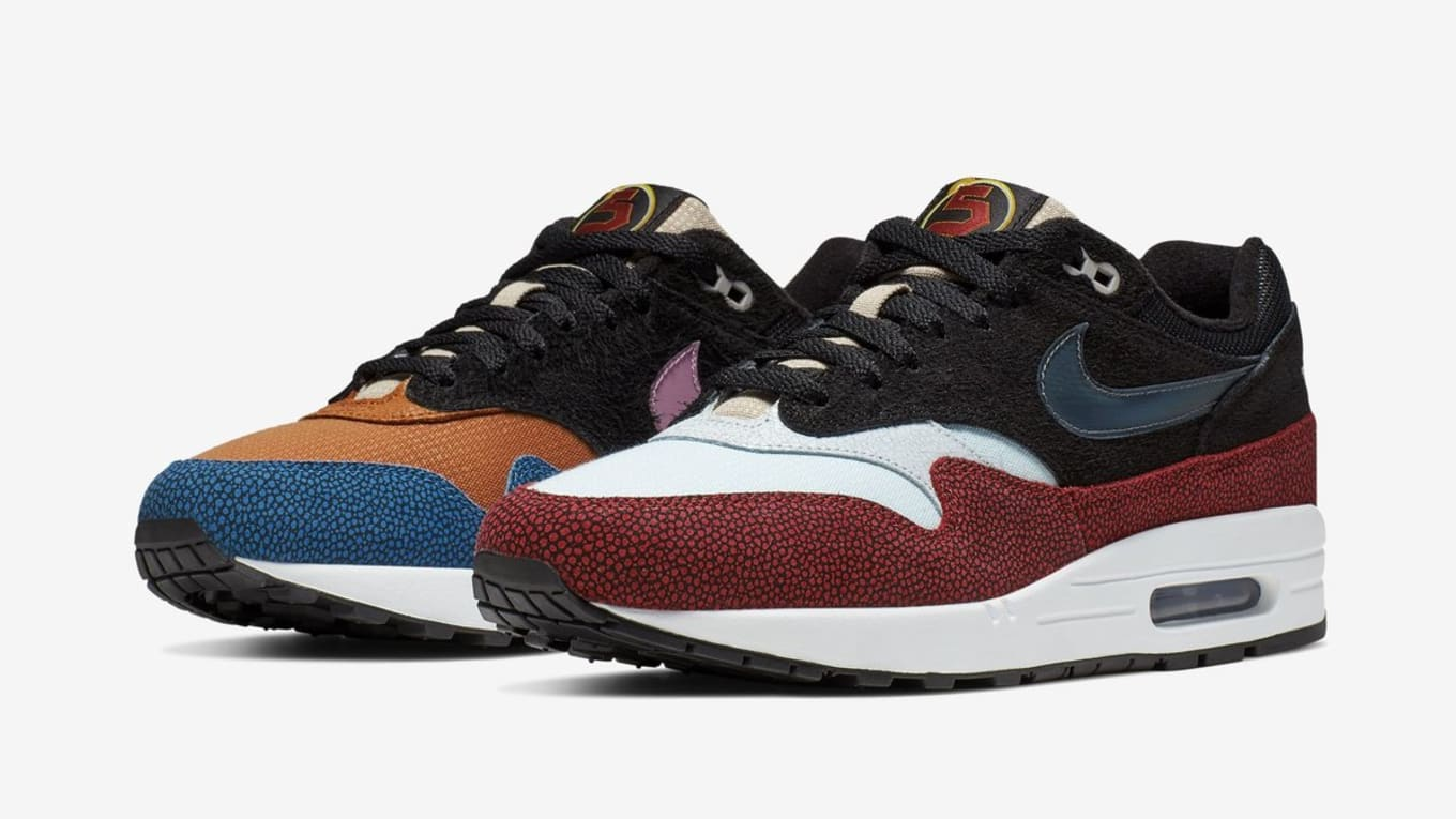 reputable site 34597 f805a De Aaron Fox x Nike Air Max 1  Swipa  Release Date   Sole Collector