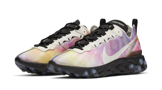 official photos af1b4 9ead8 Nike Is Dropping Tie Dye React Element 55s