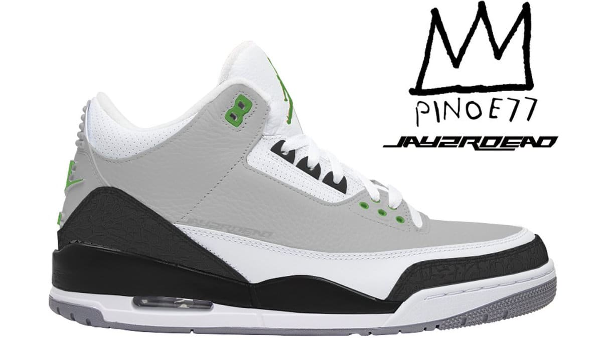air jordan 3 iii chlorophyll sole collector