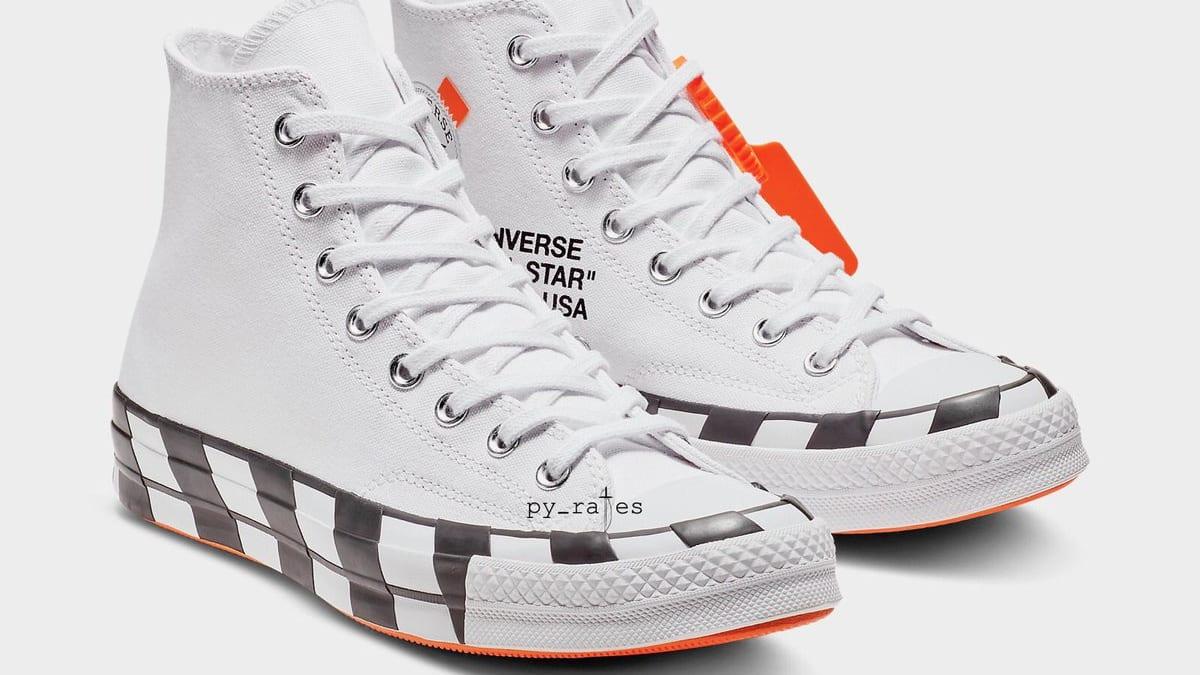 Off White x Converse Chuck 70 Stripe Release Date | Sole