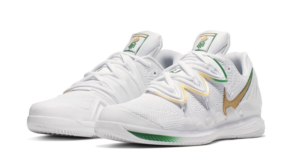 836e6bd7c5c Nike Kyrie 5 x NikeCourt Vapor X 'Wimbledon' Release Date | Sole ...