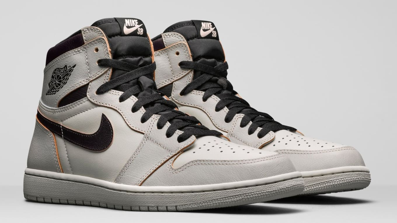 timeless design 442ee 6f6c6 The Nike SB x Air Jordan 1  Light Bone  Is Releasing Early