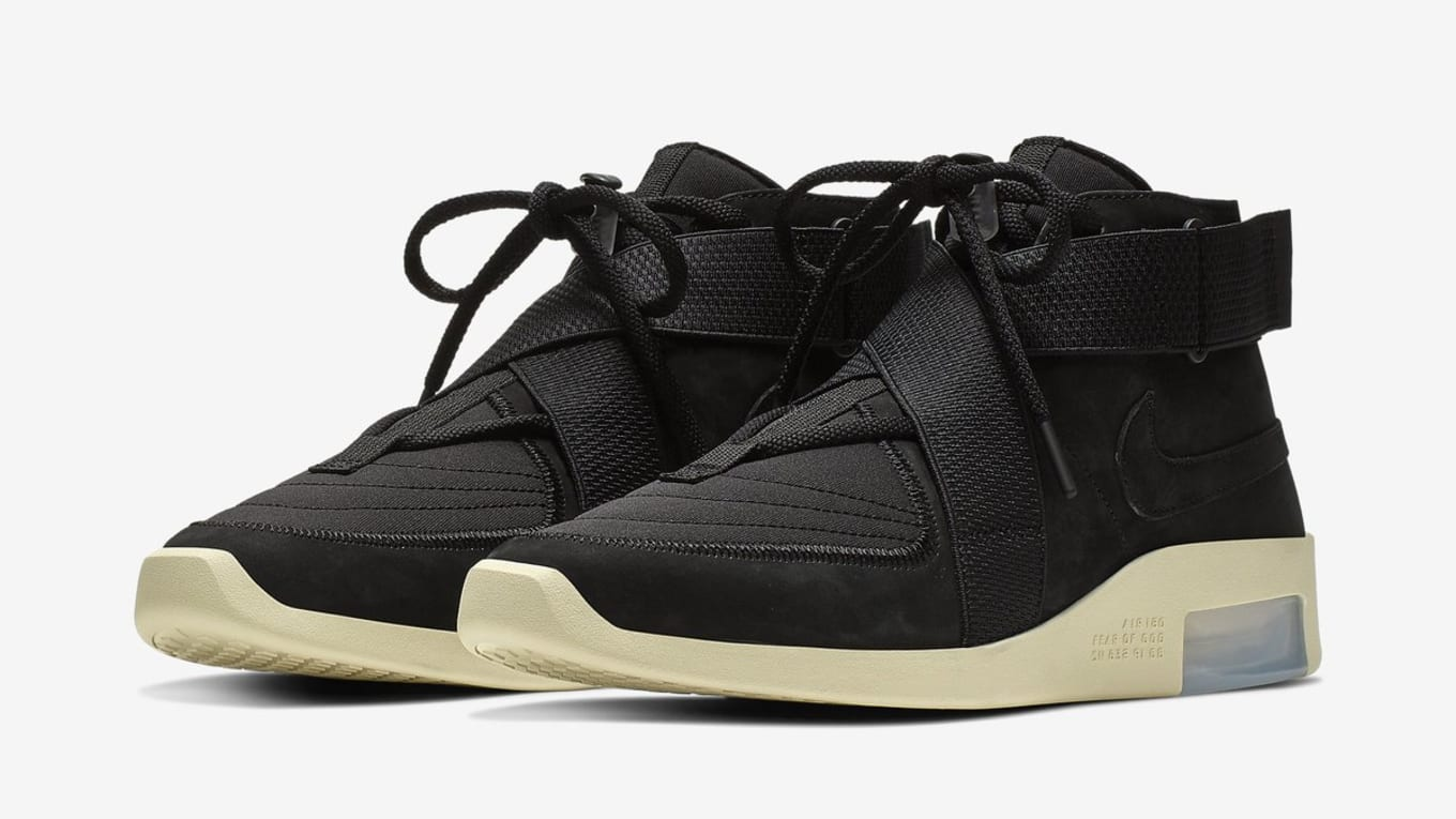 0862b215a33e Nike Air Fear of God 180  Black Black-Fossil  Release Date