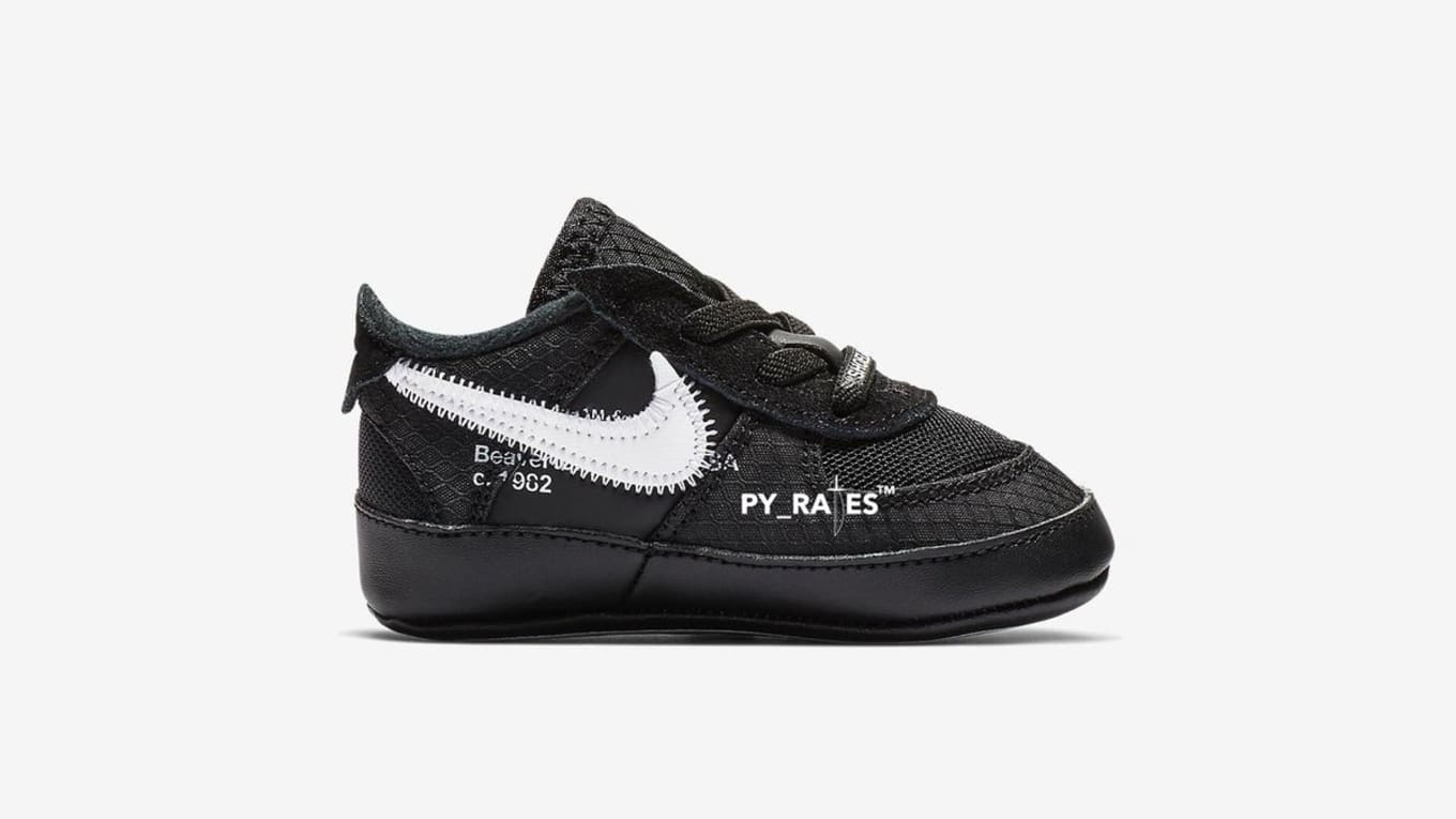 the latest a1382 e8bcd Off-White x Nike Air Force 1  Black Cone Black White