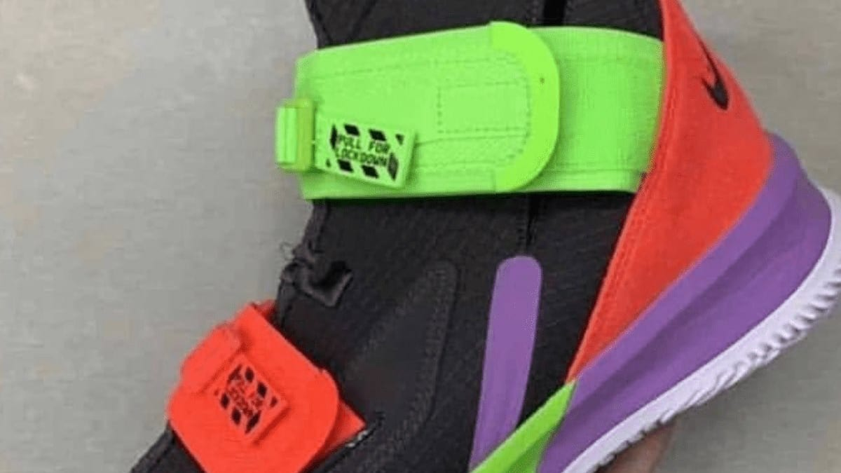 87981e16bb4 Nike LeBron Soldier 13 Leaked Images