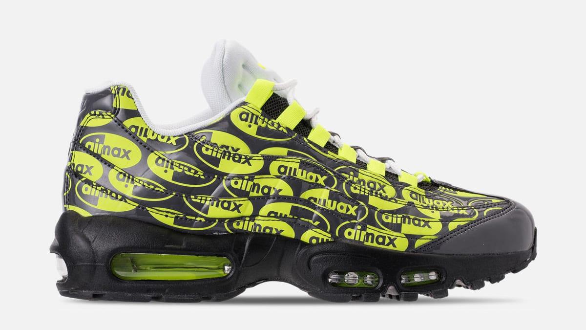 Nike Air Max 95 Black Volt Ash White 538416 019 Release