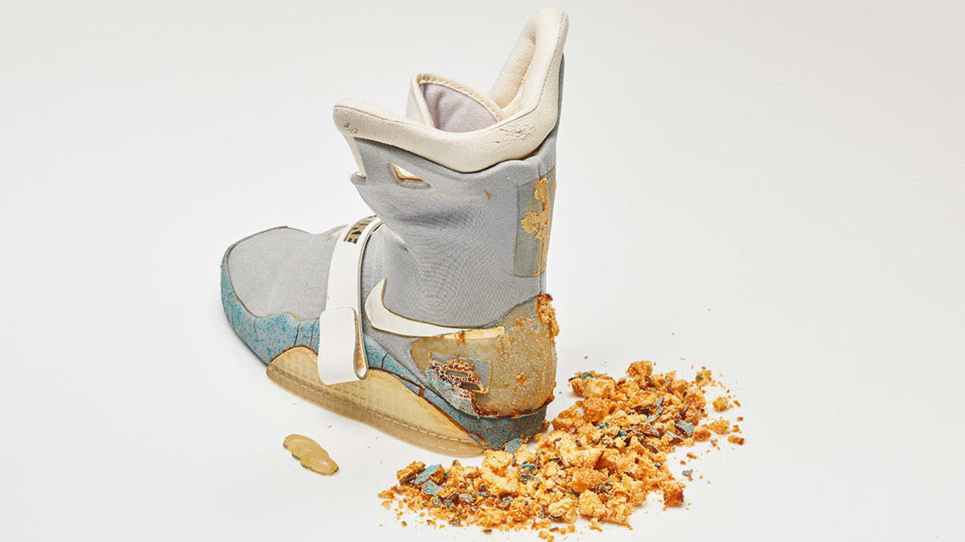 7fba98c7452 Nike Mag Sneaker From 1989 Sells for Over  90