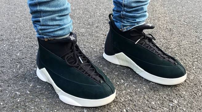 outlet store f097d cef8d See the PSNY x Air Jordan 15 On-Foot